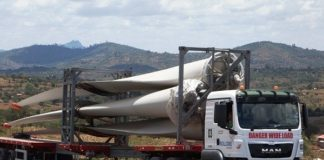 Bollore delivers wind turbines to Lake Turkana project