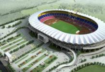 Construction of Tanzania's Dodoma Stadium takes shape