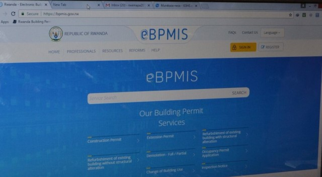 eBPMIS-New digital system in construction launched in Rwanda