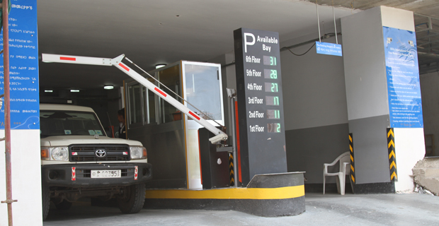 Ethiopian hotel opens seven-storey smart parking building