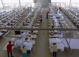 Ethiopia lures international manufactures with cheap labour