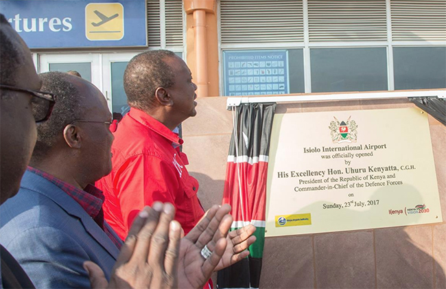 Kenya launches Isiolo international airport in northeast region
