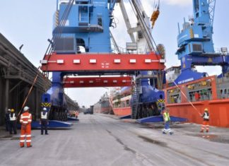 Kenya Ports Authority gets diesel electric cranes