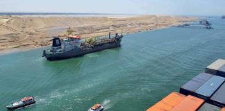 Suez Canal records jump in revenues