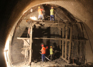 Breakthrough on longest railway tunnel in North Africa