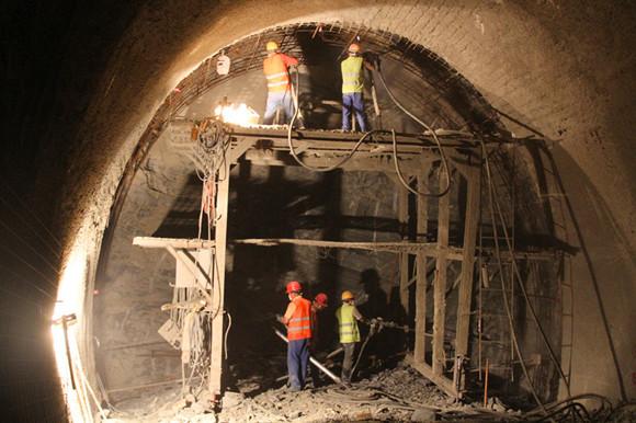 Breakthrough on longest railway tunnel in North Africa