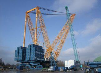 Sarens launches world's largest heavy-lift crane