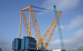 Sarens launches world's largest heavy-lift crane