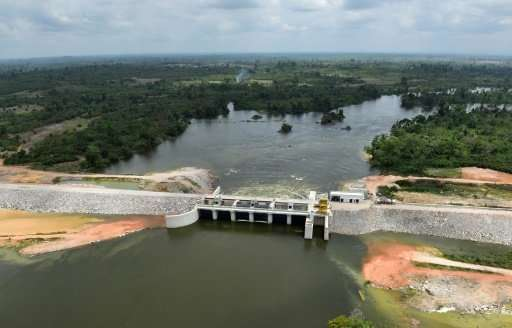 Cote d'Ivoire inaugurates Chinese-built biggest hydropower dam