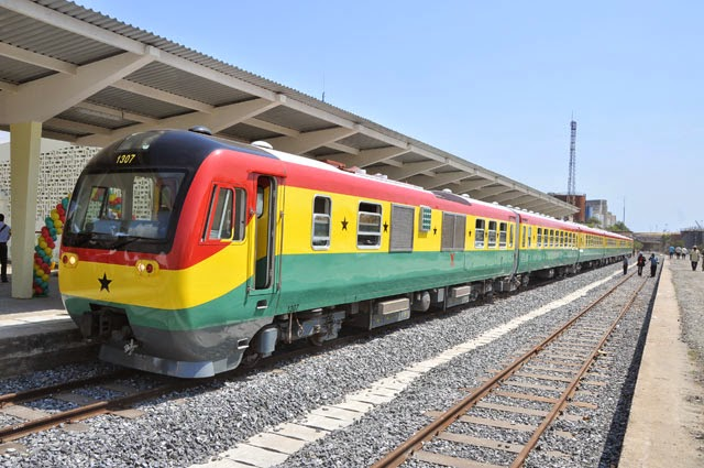 Ghana's Accra-Kumasi railway line construction to start
