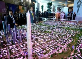 Work on Egypt's New Administrative Capital continues