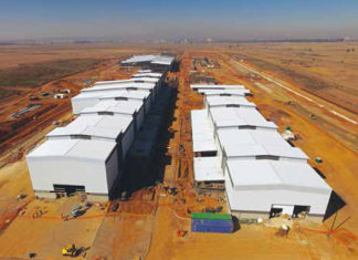Alstom moves into new train factory in South Africa