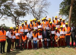 Tatu City releases first batch of artisans to take up construction jobs