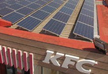 South Africa:Fast food chain KFC goes solar