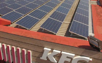 South Africa:Fast food chain KFC goes solar