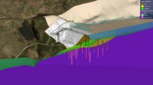 Upper Chelburn Reservoir model