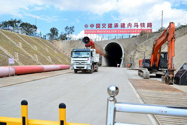 Construction of longest rail tunnel in Kenya nears completion
