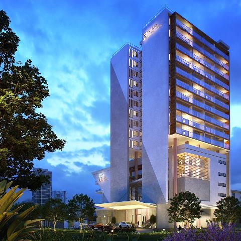 Construction of Zinhua Tower in Nairobi gears up for completion