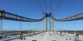 Africa's longest suspension bridge gears up for inauguration
