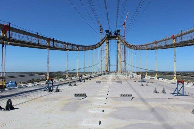 Africa's longest suspension bridge gears up for inauguration