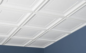 Here is how you can decorate your Ceiling Tiles