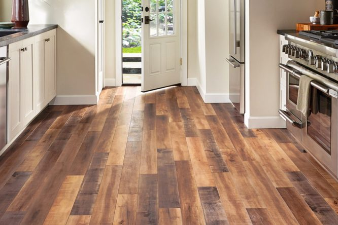 Wood Laminate Floor For Kitchen