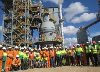 Kenyan cement maker Bamburi completes work on major production line