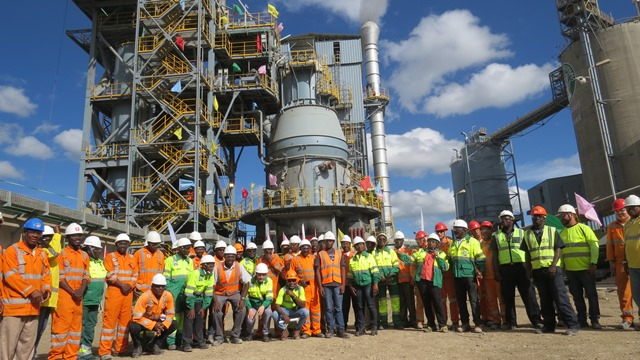 Kenyan cement maker Bamburi completes work on major production line
