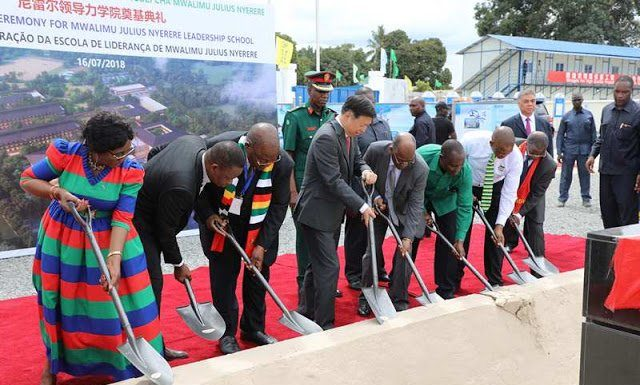 Construction work on Julius Nyerere Leadership College starts