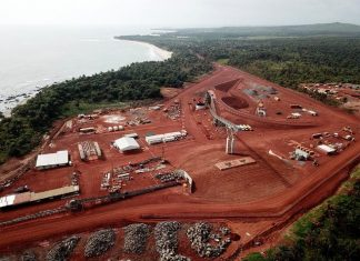 Production starts at Guinea's Bel Air Mine