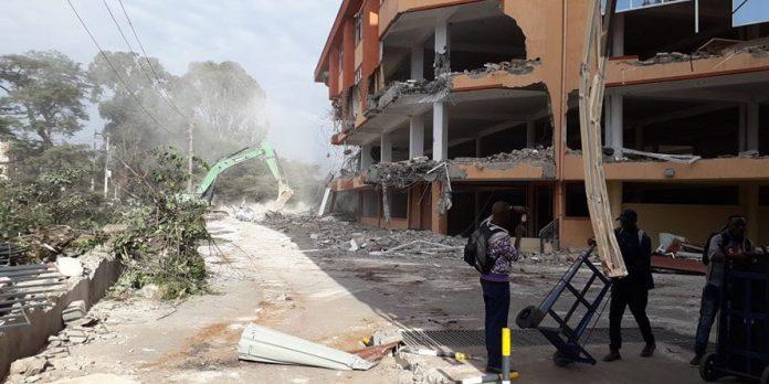 Kenya Huge Southend Mall demolished (With Photos)