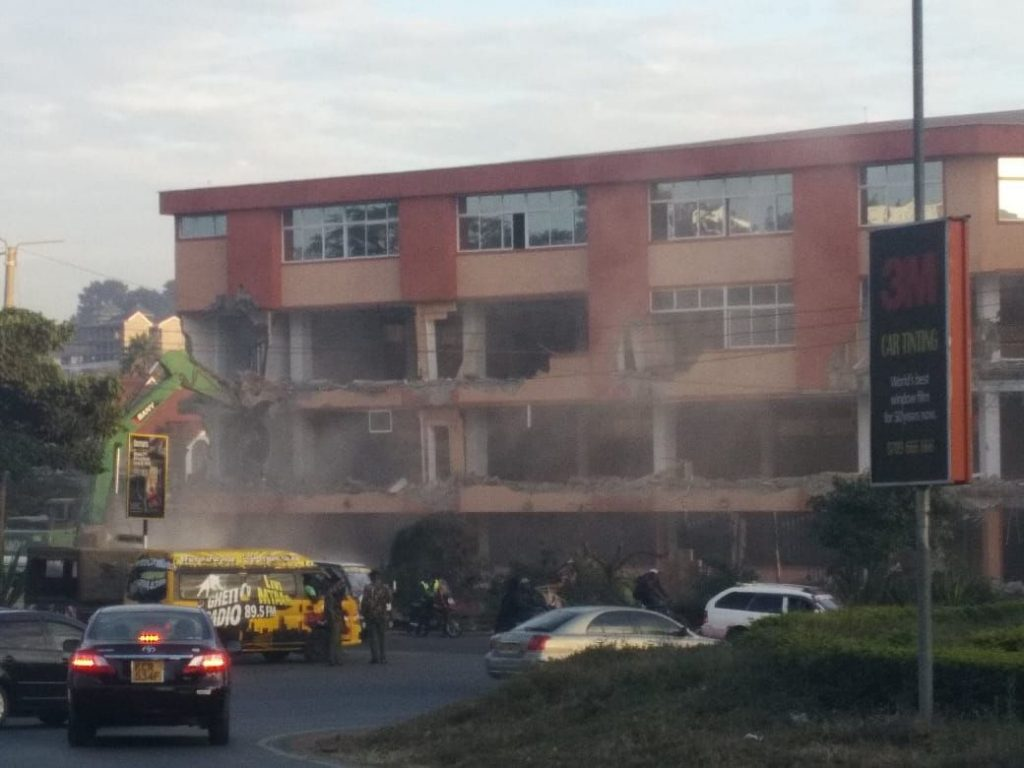 Kenya: Huge Southend Mall demolished (With Photos)