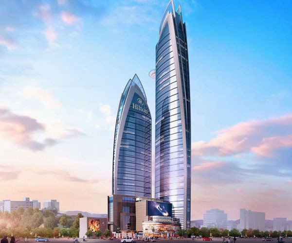 Construction of Africa's tallest building The Pinnacle well underway