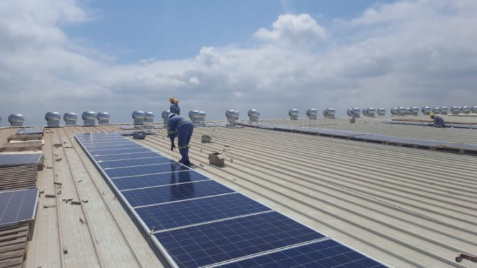 Solarcentury has installed a 506 kWp hybrid solar PV plant at Africa Logistics Properties (ALP), one of the first developments recently