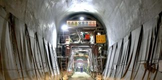 railway tunnel in East Africa