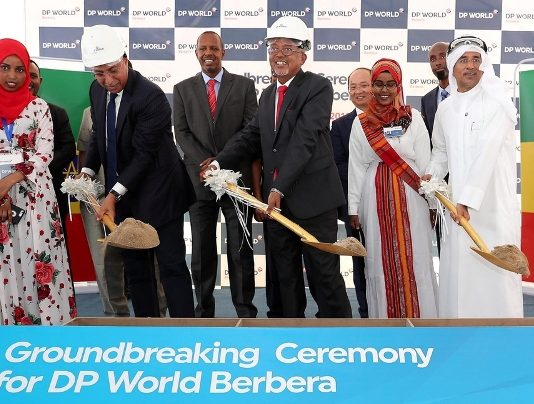 Construction work on Berbera port in Somaliland begins