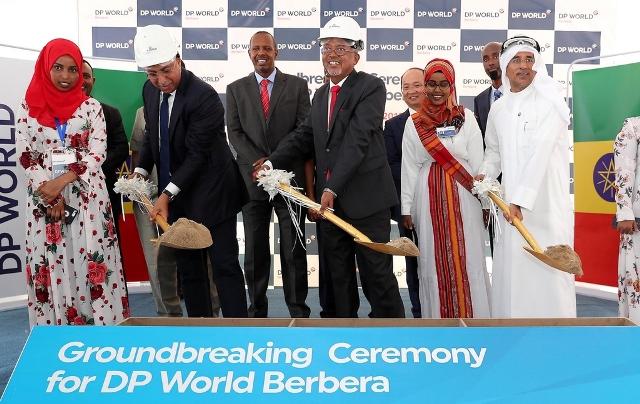 Construction work on Berbera port in Somaliland begins