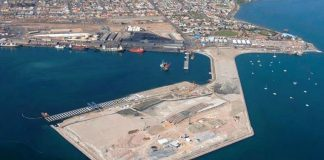 Construction begins on Walvis Bay Port container terminal in Namibia