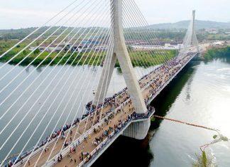 Uganda banks on iconic Nile bridge to boost traffic flow, road safety