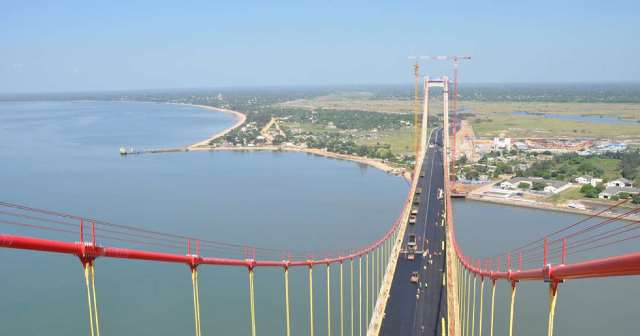 Longest suspension bridge in Africa opens, and it looks tremendous