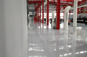 Antistatic flooring can dissipate static charge