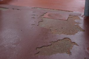 Costly repairs will be needed if damaged flooring is ignored