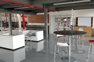 Epoxy resin floors are a great choice in areas that do not need antistatic properties