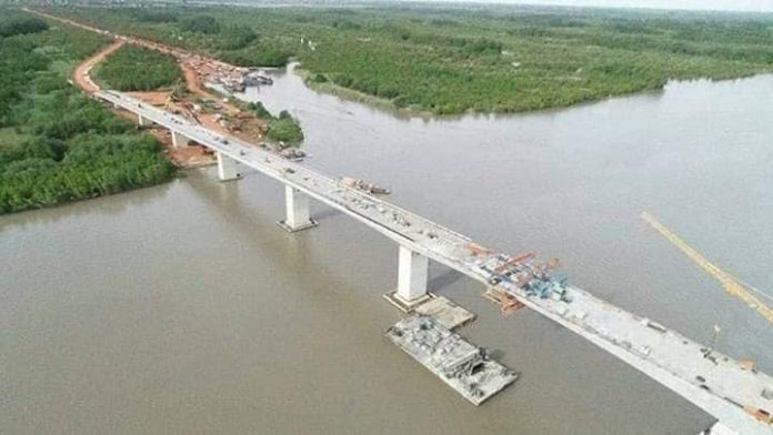 Huge Trans-Gambia bridge launched