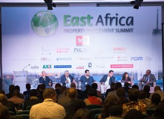Panel discussion on property investment in East Africa at the 2018 East Africa Property Investment Summit