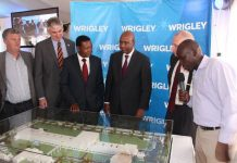 Wrigley Kenya plant gets global green certification