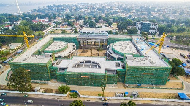 Chinese funded parliament complex in Congo set for completion
