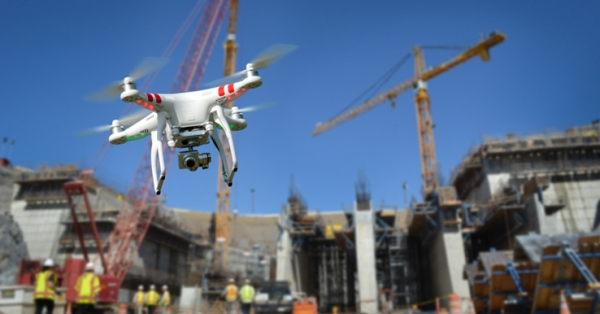 Top 7 benefits of using drones in construction