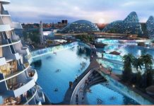 An artist's impression of the failed Modderfontein smart city in Johannesburg.