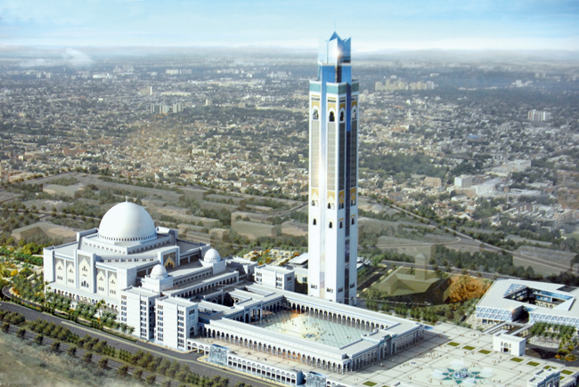 Algerian mosque with world's tallest minaret set for completion